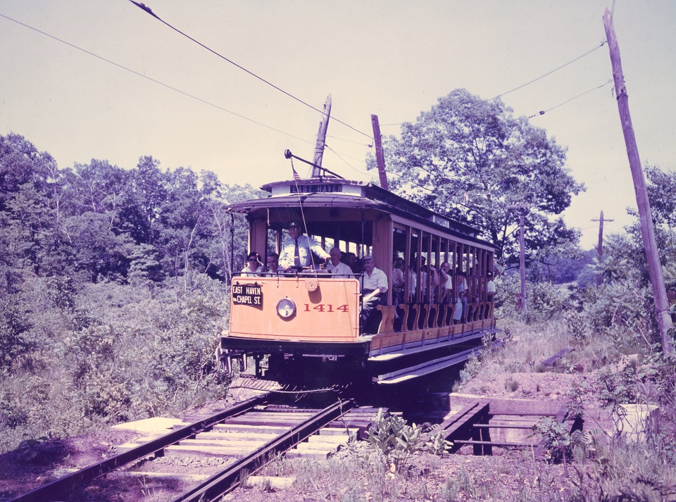 Connecticut Co. open car 1414