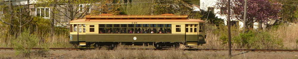Trolley Line in The Usa