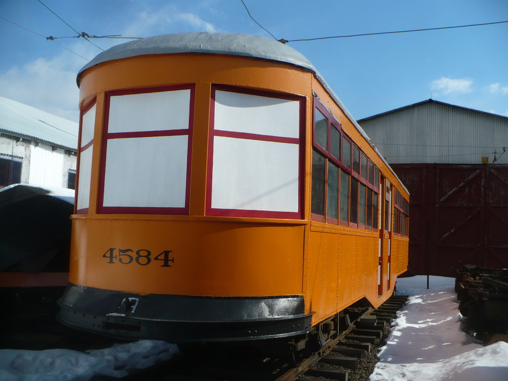 Trolley Car: The Shore Line Trolley Museum Operated By
